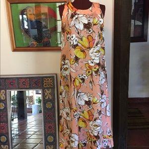 Vintage Hawaiian Maxi Dress, Stunning!